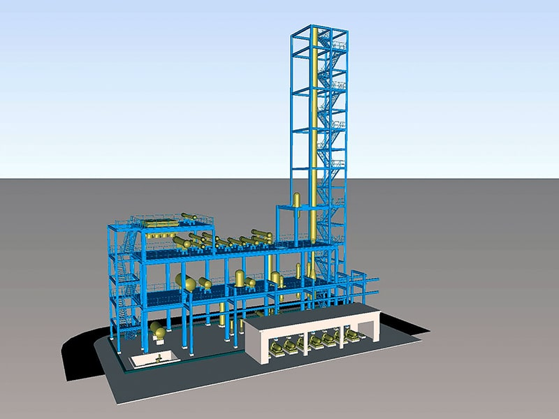 Dimethyl ether production plant with capacity 20,000 TPY